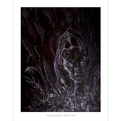Black Jaguar print